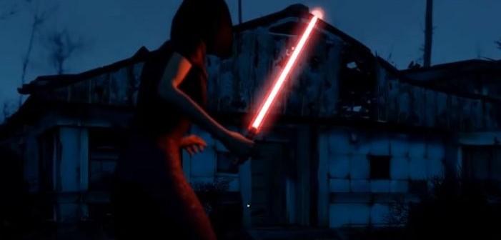 Fallout 4 dégaine son mod sabre laser en vidéo