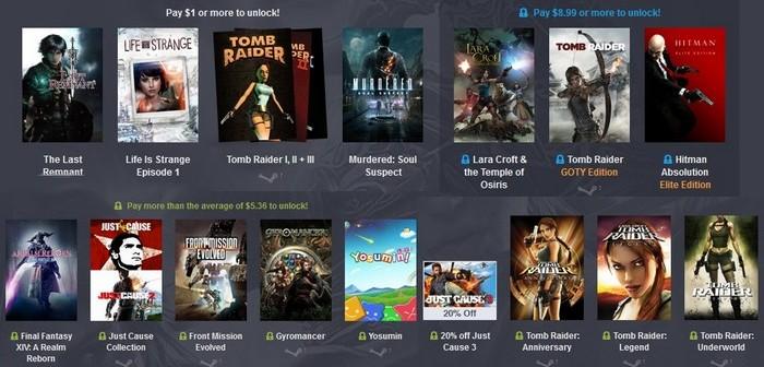 Humble Bundle : Square Enix achève la vie sociale des gamers !