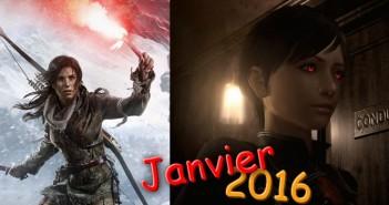 Jeux vidéo : quoi de beau en janvier 2016 ?