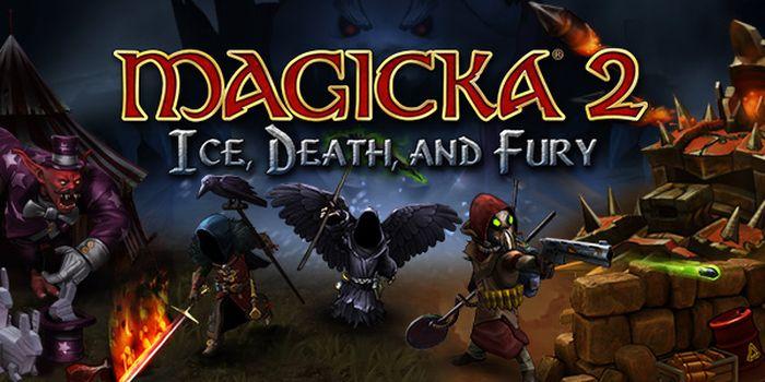 """Magicka 2 mijote un nouveau Death and Fury DLC : """"Ice, Death and Fury"""" !"""