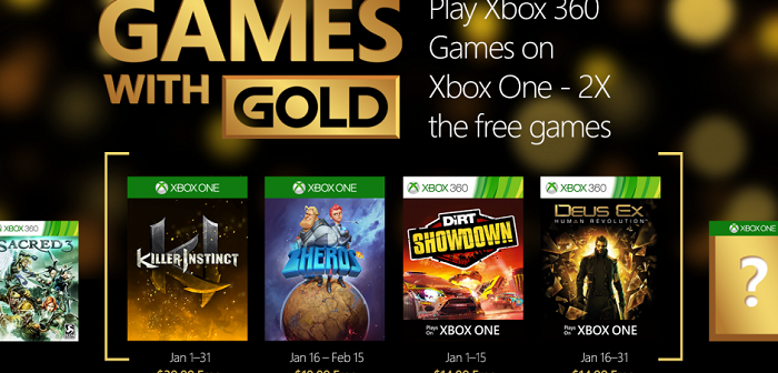 Xbox Live : quels jeux pour les membres Gold en janvier ?