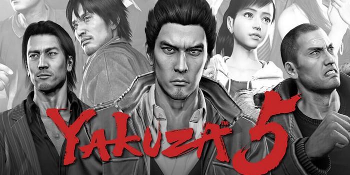 Yakuza 5 disponible en téléchargement !
