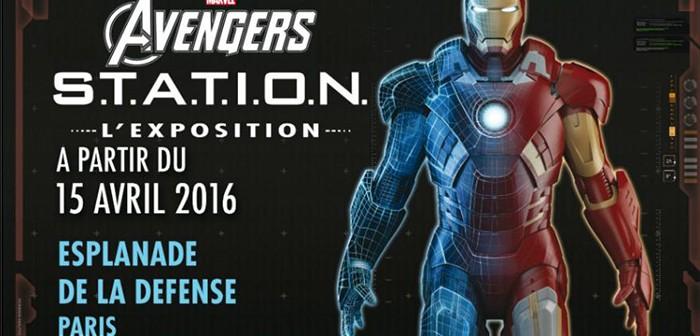 L'expo S.T.A.T.I.O.N. de Marvel débarquera le 15 avril à Paris !