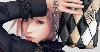 Lightning prend encore la pose pour Louis Vuitton