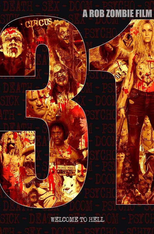 Rob Zombie dévoile l'affiche et la classification de 31 !