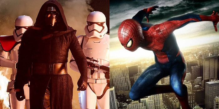Star Wars VIII Spider Man
