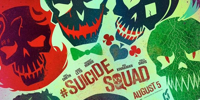 Suicide Squad : un poster d'anti-héros minimaliste(s) !