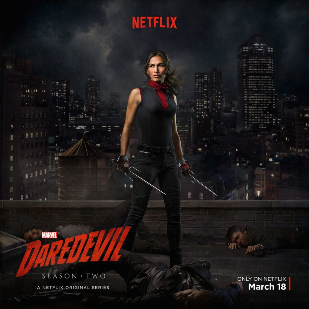 Elektra sort les armes dans un nouveau teaser de Daredevil