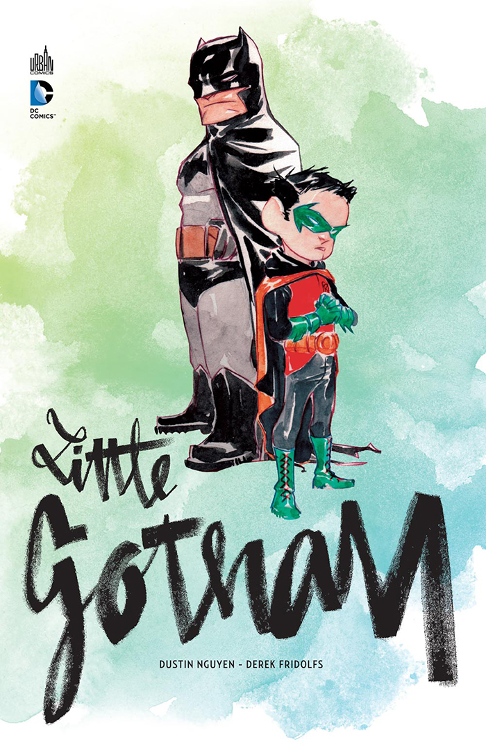 [Critique Comics] Little Gotham : un Chibi Dark Knight !