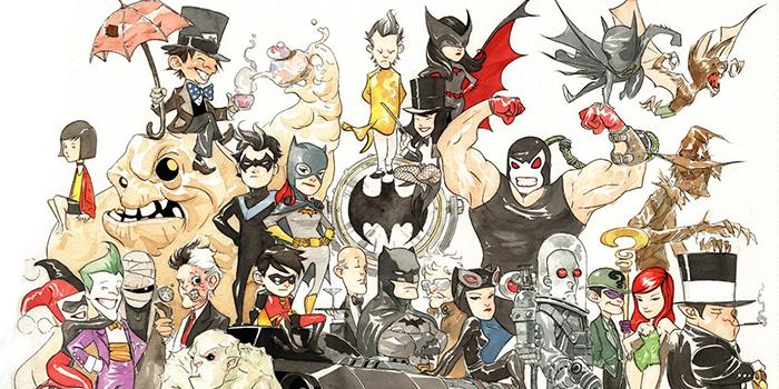[Critique Comics] Little Gotham : un Chibi Dark Knight !