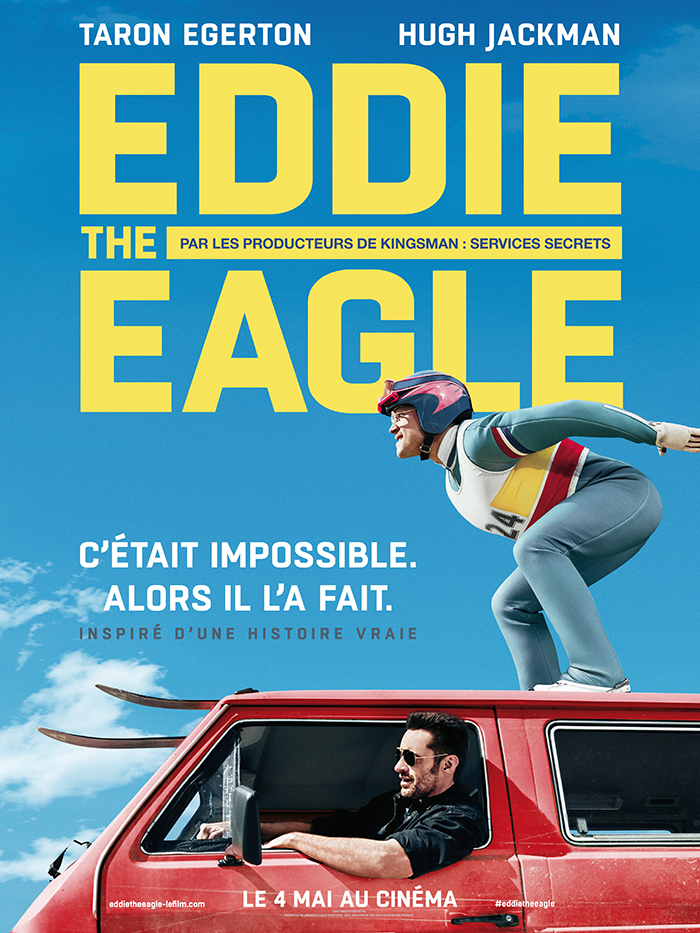 Eddie The Eagle : la bande-annonce qui donne envie de skier !