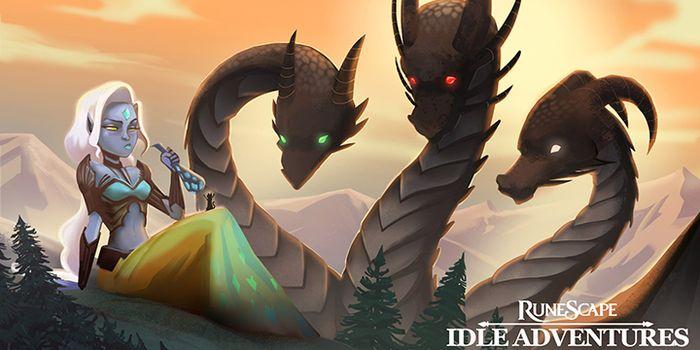 Jagex Games Studio & Hyper Hippo sur RuneScape: Idle Adventures