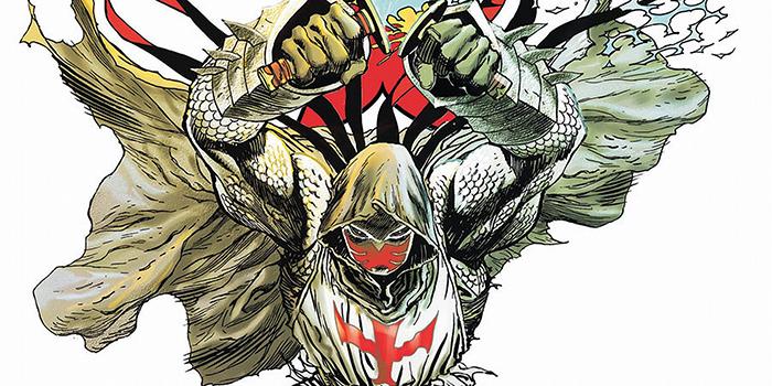 Pour sa saison 2 Gotham dévoile le look d'Azrael !