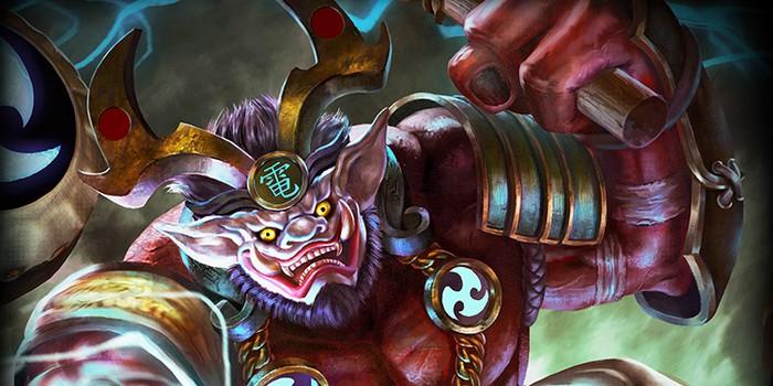 Smite accueille le foudroyant Raijin, Maître du Tonnerre !