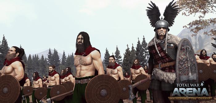 Total War Arena : faites place au fameux Vercingétorix !
