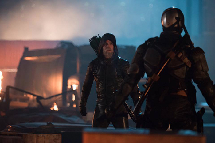 Un vieux Green Arrow dans Legends of Tomorrow !