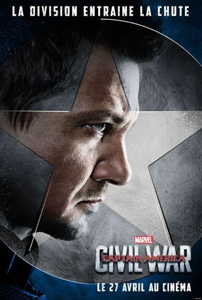 Captain America dévoile les portraits de sa team pour Civil War !