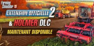 Farming Simulator 15 le DLC HOLMER et l'Ext 2 disponibles_header