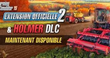 Farming Simulator 15 le DLC HOLMER et l'Ext 2 disponibles_header
