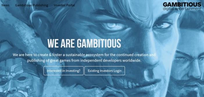 Gambitious crée un portail de financement vidéoludique !