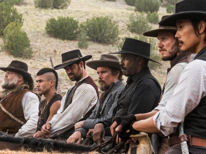 Les Sept Mercenaires : les nouveaux cowboys en images !