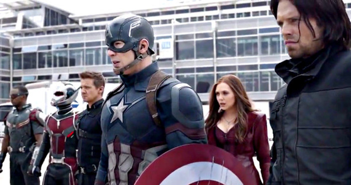 The Revenant écrasé par Captain America : Civil War