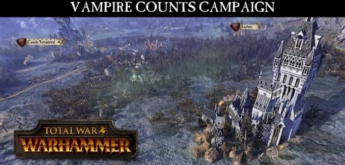 Total War: Warhammer, la campagne des Comtes Vampires