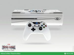Trois Xbox One aux couleurs de Tony Stark
