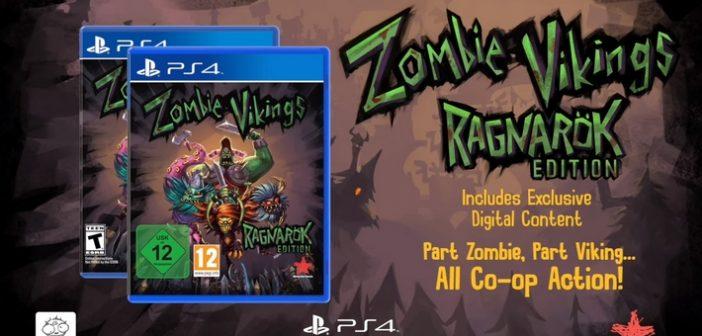 Zombie Vikings Ragnarök Edition navigue sur Ps4