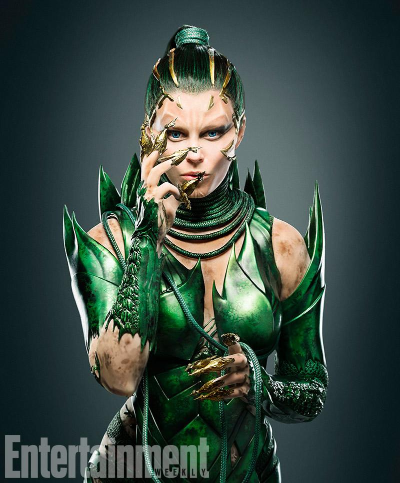 Power Rangers : première image d'Elizabeth Banks en Repulsa