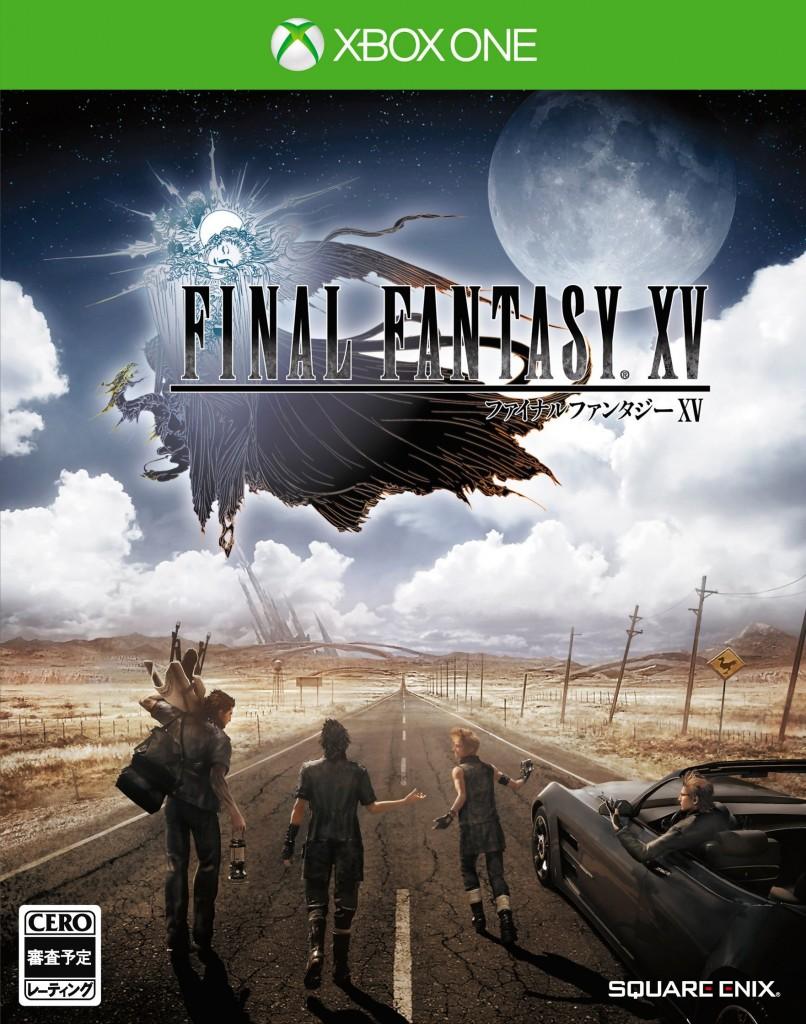 Final Fantasy XV dévoile ses jaquettes sur PS4 et Xbox One !