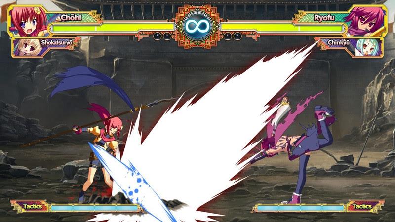 Koihime Enbu gameplay