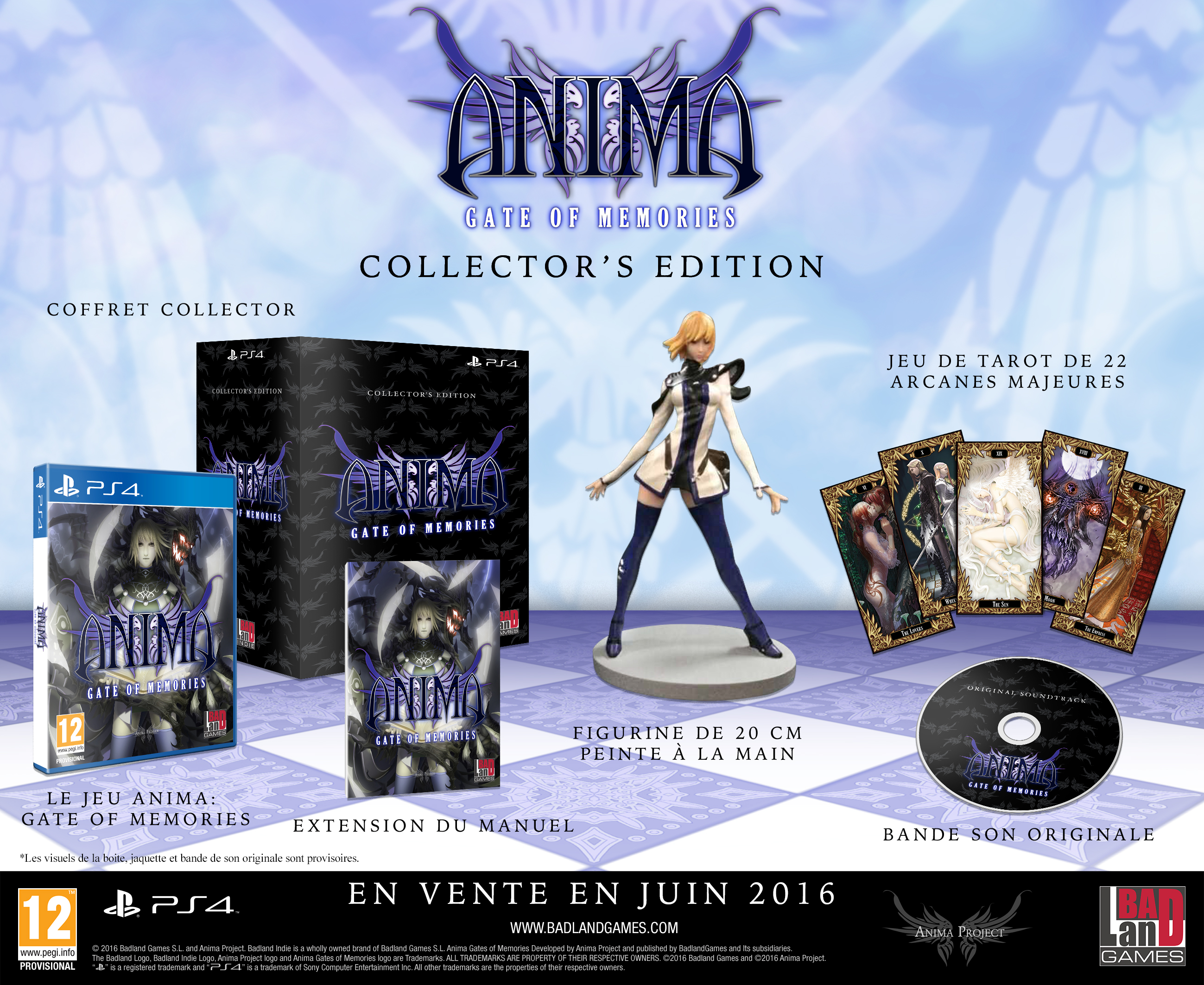 Affiche Anima: Gate of Memories Collector