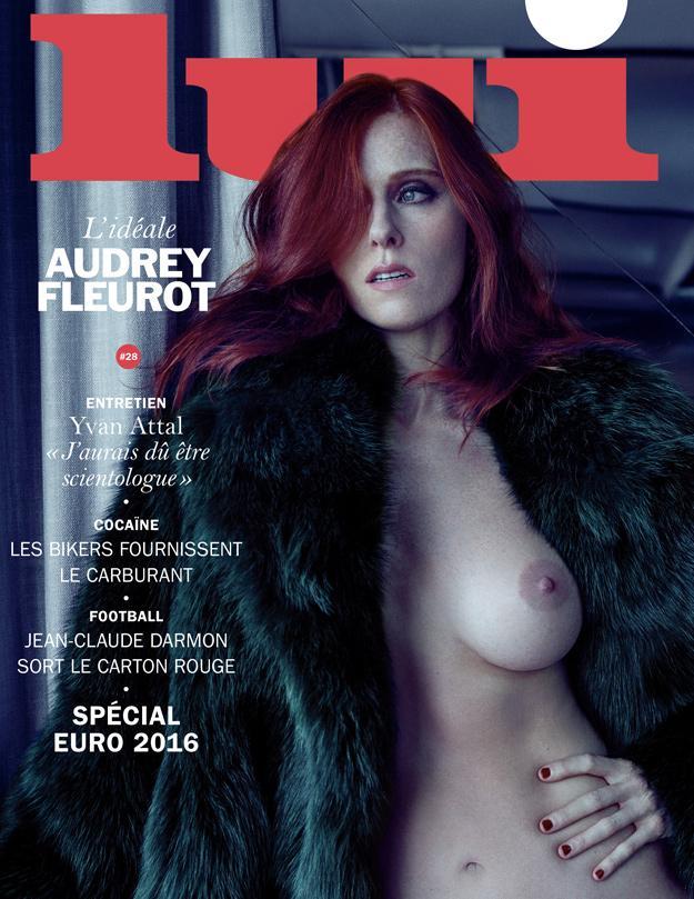 Audrey Fleurot se dénude pour Lui