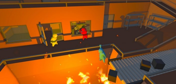 [Preview] Gang Beasts Online : Go home, you're drunk !