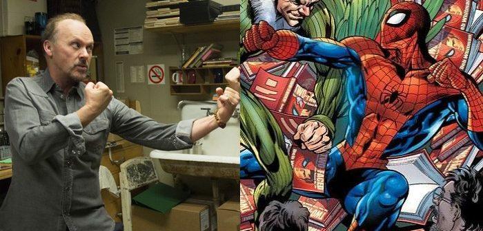 Michael Keaton plane au-dessus de Spider-Man : Homecoming