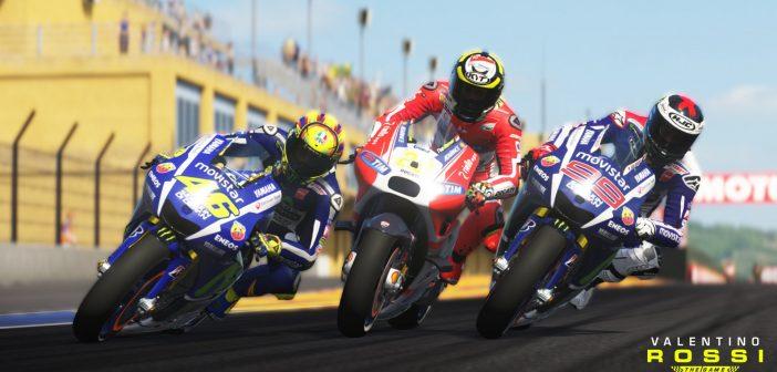 Valentino Rossi the Game, toute l'histoire du motoGP
