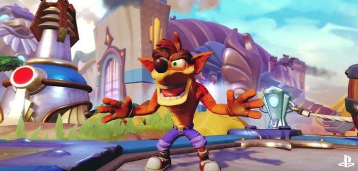 [E3 2016] Crash Bandicoot revient dans 4 jeux !