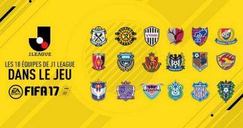Fifa 17 accueille la J1 League japonaise !