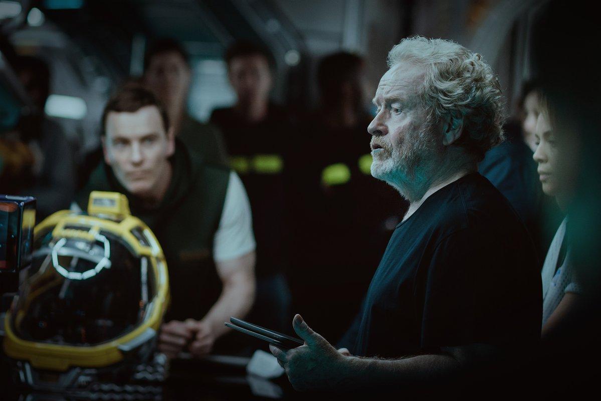 Premier apercu de Michael Fassbender dans Alien Covenant