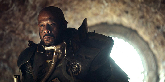 Qui est Forest Whitaker dans Star Wars : Rogue One ?