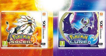 Deux nouveaux Pokémon dévoilés dans Pokémon Soleil et Lune !