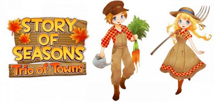 Une date de sortie USA pour Story of Seasons : Trio of Towns !