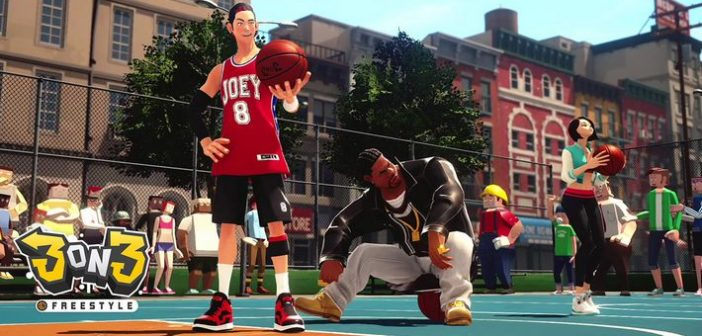 3on3 Freestyle, du Street Basketball en exclu PS4