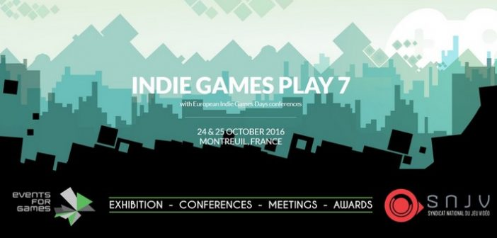 Les Indie Games Play reviennent cet automne !