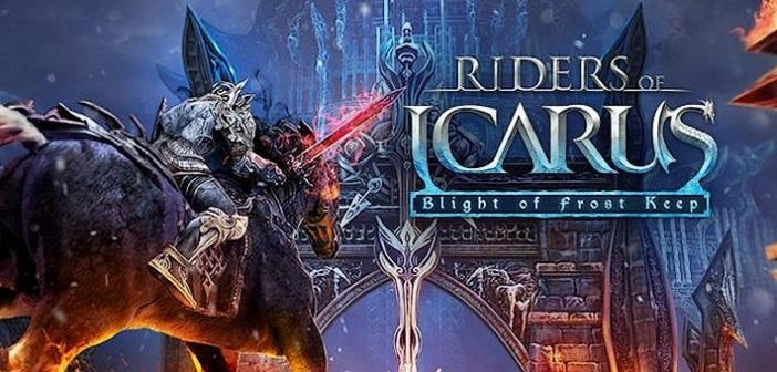 Riders of Icarus : la màj Blight of Frost Keep pour bientôt !