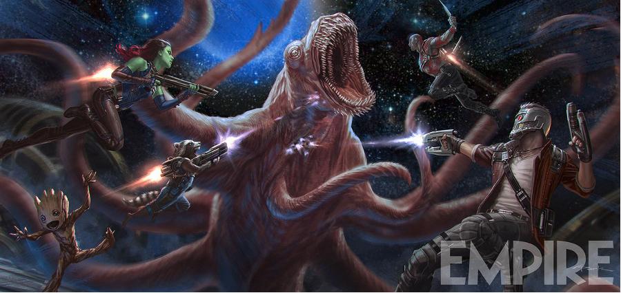 Les Gardiens de la Galaxie vol. 2 : un concept art dévoilé