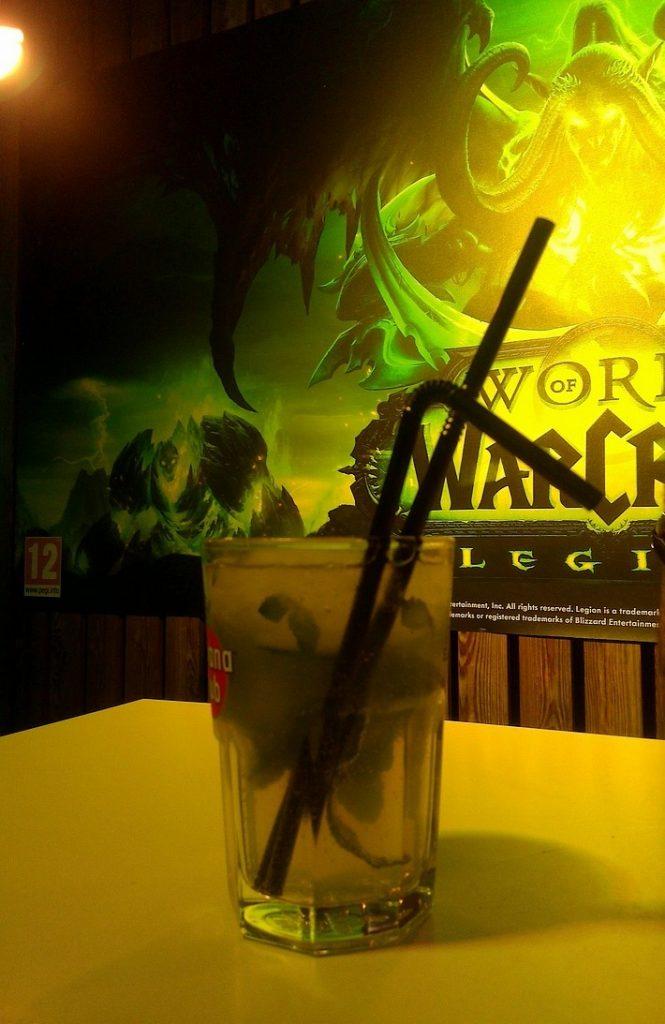 La petite recette cocktail du jeu vidéo : L'Ork Fou !