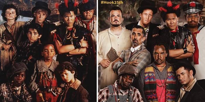 Hook : les enfants perdus 25 ans après !