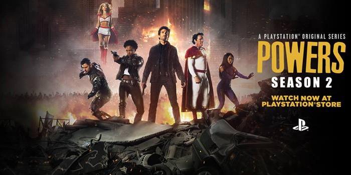 PlayStation Network annule la série Powers !